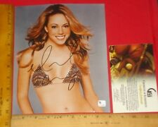 "REAL Authentic Mariah Carey Signed 8""X10"" Color Photo Global /GA/GAI/GV  HTF V1"