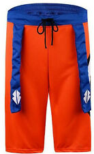 The Saiyan Dragon Ball Goku Mens Training Shorts Orange