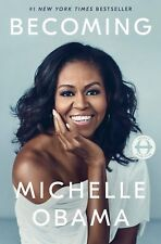 Becoming by Michelle Obama (2018, Hardcover) - FREE SHIPPING