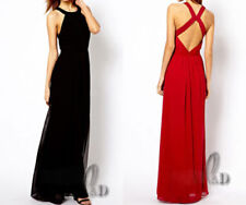 Backless Hand-wash Only Sleeveless Dresses for Women