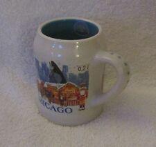 2016 Chicago IL CHRISTKINDLMARKET Ceramic Stein Mug Collectible!