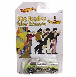 Hot Wheels - The Beatles Yellow Submarine - Cockney Cab II DML69 NEW Toy
