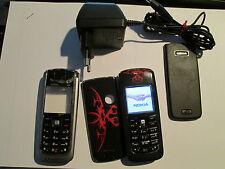 Nokia 6021 RM 94 schwarz Dragon Ersatz-Cover SIMfrei ohne Heft super ok gebr 87X