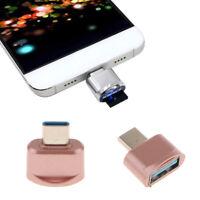 Convertitore adattatore USB 3.1 tipo C maschio a USB femmina in oro rosa