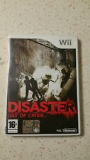 Disaster Day Of Crisis Nintendo wii Ita Completo