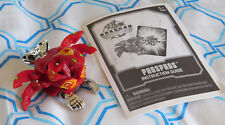 BAKUGAN Gundalian Invaders Red Pyrus PHOSPHOS 760g with instructions