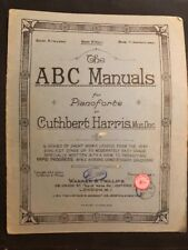 THE  ABC  MANUALS  FOR PIANOFORTE BY  CUTHBERT  HARRIS   BOOK  A [VERY EASY]