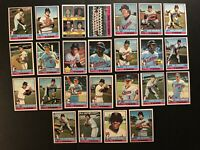 1976 Topps MINNESOTA TWINS Complete TEAM Set CAREW Oliva Bert BLYLEVEN Goltz