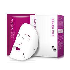 [NARUKO] Rose & Botanic HA Aqua Cubic Hydrating Facial Mask 10pcs/1box NEW