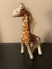 """12""""  Animal Loving Barbie 1988 Giraffe Ginger"""
