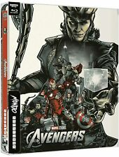 More details for avengers assemble 4k uhd steelbook / mondo art # 39 / import /worldwide shipping