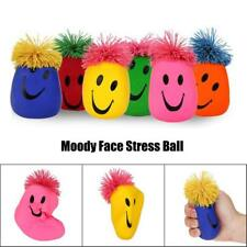 Moody Smiley Face Stress Ball Stretchy Squishy Moulding Dough Fidget Toy UK