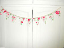 Cath Kidston Gorgeous Mini Bunting Vintage Rose 36ins DECORATION  HOME SALE !