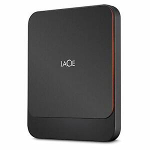 2TB Seagate LaCie Portable External USB3.0 Solid State Drive - Black