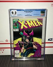 UNCANNY X-MEN #257 1ST JUBILEE APPEARANCE IN COSTUME CGC 9.2 WHITE PAGES