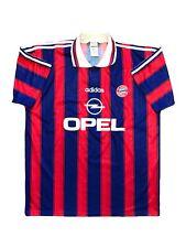 FC Bayern München Trikot 96/97 Home Adidas Shirt Vintage Camiseta Maillot FCB L