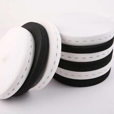 Flat Elastic Band With Button Holes For DIY Garment Sewing & Crafts Accessories
