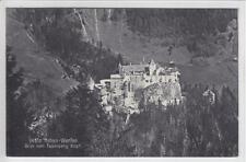 AK Werfen, Hohenwerfen v. Feuerseng Kopf, 1908