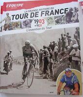 LA GRANDE HISTOIRE DU TOUR DE FRANCE de 1903 à 1939 PAR L'EQUIPE
