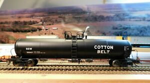 ATLAS RTR 20700 Gal Non-Insulated Tank Car COTTON BELT SSW 55007 HO SCALE
