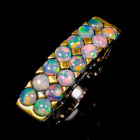 Opal Ring Silver 925 Sterling Very Beautiful ring Size 6.75 /R142508
