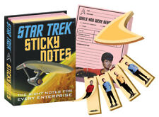 Classic Star Trek TV Series Photo Images Sticky Notes SEALED NEW UNUSED
