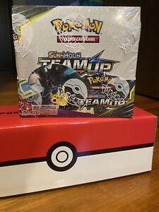 Pokemon Sun & Moon Team Up Booster Box