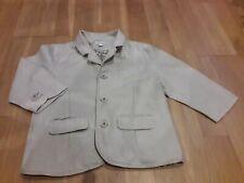 Boys Monsoon linen ivory blazer/ suit jacket size 2-3 years