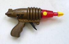Vintage 1990's WEIHUA SPURT FIRE GUN Space Ray Gun Sparkling Pistol Red
