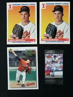1990-91Mike Mussina Rookie RC Lot Score Upper Deck Humpty Dumpty As New! Orioles