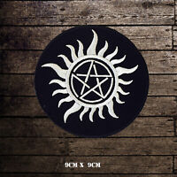 Supernatural Anti-Possession logo Embroidered Iron On Sew On Patch Badge