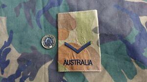 AUSCAM Australian Army Lance Corporal Rank Slide
