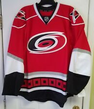 Carolina Hurricanes REEBOK EDGE Authentic NHL RED Jersey size 58+ /3XL BRAND NEW