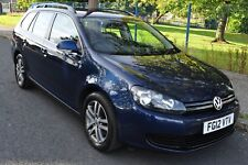 2012 Volkswagen Golf Estate (2009 - 2013) MK6 1.6 TDI BlueMotion Tech SE 5dr