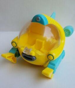 Octonauts GUP U Frog Fish Mission Vehicle Only (Mattel, 2015) Pull Back & Go!