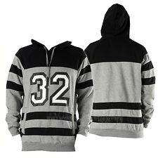 THIRTYTWO thirty-two Men 2015 Grey Heather CROSSCHECK FLEECE PULLOVER HOODIE