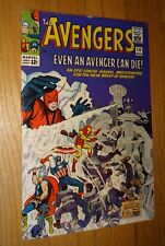 AVENGERS #14  NICE 9.0 WHITE PAGES