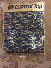 Hosiery - Silkies Nylon Control Top Small Jet Black