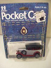 NEW VINTAGE TOMY POCKET CARS 1932 DATSUN DIE CAST TOURING CAR TOMICA 1982
