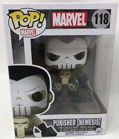 Pop! Marvel #118 Punisher (Nemesis) Funko Pop! Vinyl Bobble-Head