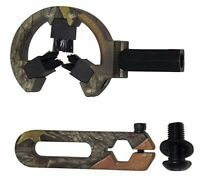 Camo Hostage Holding Brush Arrow Rest Whisker Compound Bow Hunting Archery L/R
