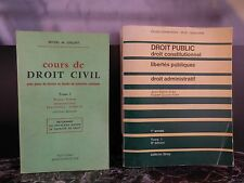Cours de droit civil Droit public constitutionnel ARTBOOK by PN