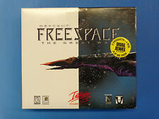 Descent Freespace Silent Threat & Great War PC Game SEALED 1998 Windows 95 NEW