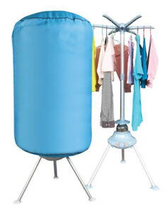 Portable Electric Clothes Dryer Indoor Home Dorms Buddy Best Hot Air Machine UK