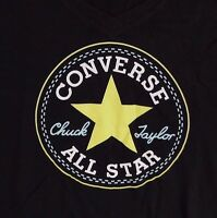 NEW WOMEN'S CONVERSE ALL STAR  LOGO GRAPHIC T-SHIRT SIZE US S  M 13430C