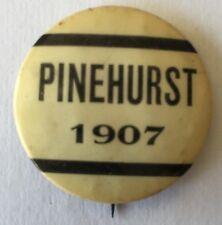 1907 Pinehurst No. 2 Golf Course Pin