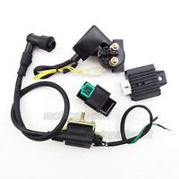 Ignition Coil CDI Regulator Rectifier Relay For 50 70 90 110 cc Chinese Quad ATV
