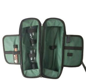 Wine Carry Travel Case 2 Glasses Corkscrew - Summer Picnic Glamping Gift
