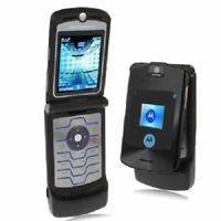 Motorola RAZR V3i Schwarz Klapphandy ohne Simlock Handy GSM Cellular Phone