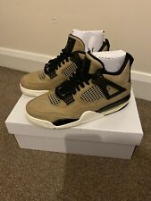Brand New Nike Air WMNS Jordan 4 Retro Mushroom Fossil. UK 5